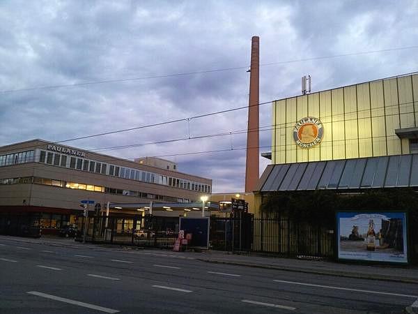 Paulaner Brauerei in München, 2011