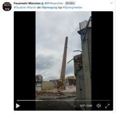 Video der Feuerwehr München https://twitter.com/BFMuenchen/status/886149006077898753