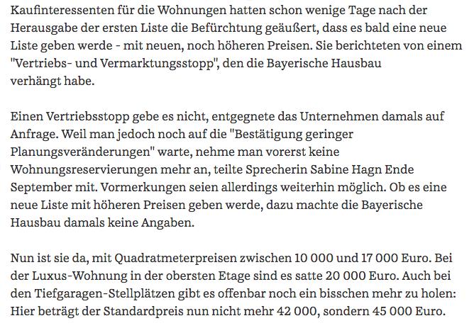 Bayerische Hausbau Preiserhohung Um Bis Zu 15 Prozent 87 Qm